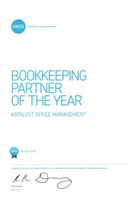 Bookkeeping Partner of the Year 2012